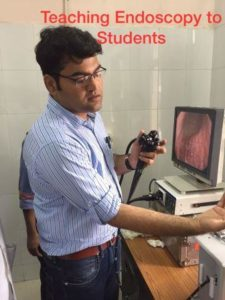 Teaching Endoscopy to Students