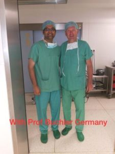 With Prof Buchler Germany